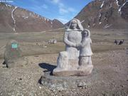 Exile Monument Grise Fiord