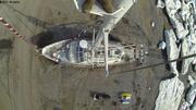Vagabond au sec a Grise Fiord depuis nid de pie