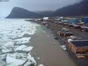 Maree haute Grise Fiord 25 juillet