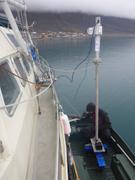 Installation sonar pres de Grise Fiord ©EB