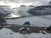 Mouillage au bout du fjord Starnes ©EB