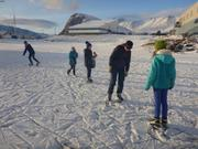 Patinage Grise Fiord ©EB