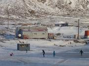 Patinage lac gele Grise Fiord ©EB