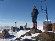 Relais VHF sommet Nuvuk pres de Grise Fiord ©EB