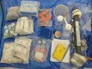 Preparation materiel prelevement ©EB