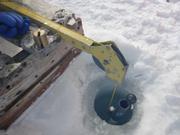 Prelevement eau sous la banquise ©EB