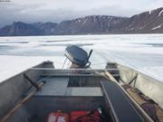 En bateau sur la banquise ©EB