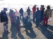 Mesure des poissons competition Nunavut Day ©EB