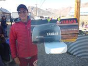 Terry et son bateau a voile Nunavut Day ©EB