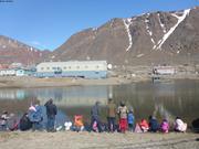 Concours de bateaux a voiles Nunavut Day ©EB