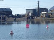 Course bateaux Nunavut Day ©EB