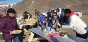 Hamburgers et glaces pour tous Nunavut Day ©EB