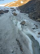 Ascension glacier au soleil de minuit ©EB
