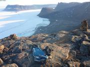 Bivouac a 615m au-dessus de Grise Fiord ©EB