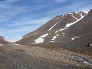 Le glacier de Grise Fiord a bien recule ©EB