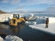 Mise a l'eau bateau Kavavow ©EB