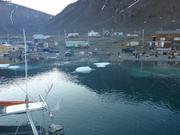 Vagabond quitte emplacement hivernage Grise Fiord ©EB