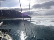 La glace revient devant Grise Fiord @France Pinczon du Sel