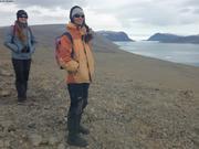 La sortie du fjord Grise est encombree par les glaces ©EB