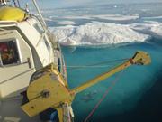 Trop de glaces au mouillage devant Grise Fiord ©EB