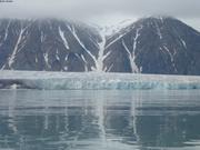 Glacier pres de Clarence Head ©EB