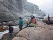 Prelevement eau glacier Sverdrup ©EB