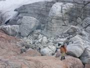 France au bord du glacier Sverdrup ©EB