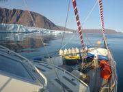 Beau temps devant glacier Sverdrup ©EB
