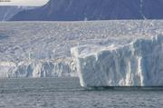 Iceberg devant glacier Belcher ©EB