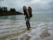 France et Aurore plage de la Guimorais