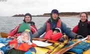 Kayak baie de Saint-Pol 1er janvier