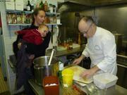 Cours de cuisine par Bernard Brossier