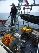ROV a bord