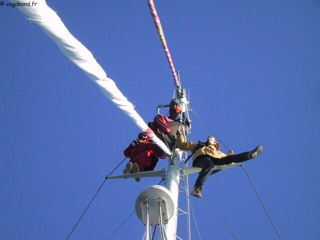 3 dans nid de pie groenland2001 vagabond voilier - Baie du japon en 3 lettres ...