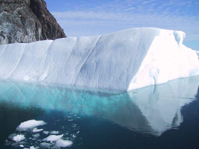 Iceberg miroir groenland2001 vagabond voilier for Miroir vagabond