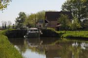 Derniere ecluse canal du Centre