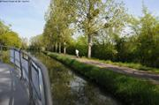 Eric jogging le long du canal