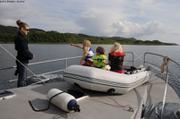 En quittant Loch Craignish