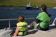 Beaucoup d aquaculture aux Feroe