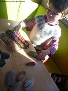 Peinture sur bois flotte