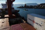 Ecotroll sur le pont d Arina Arctica2