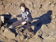 Robin aime la boue