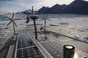 Devant glacier Brede