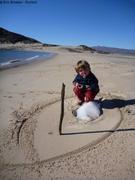 Jeux de plage et de glace