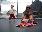 Retrouvailles trampoline Feroe