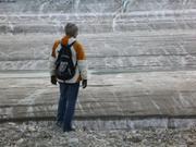 269r Christian devant glacier Sydkap