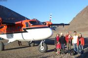Depart equipe scientifique Grise Fiord