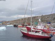 Six voiliers a Upernavik