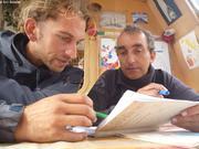 Francois et Laurent debriefing