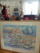 Chez Pierre artiste a Uummannaq